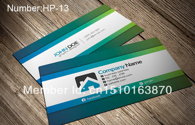 personalized business card design business card printing double sided color business cards - Personalized Business Cards