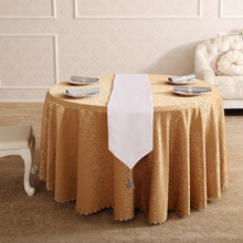 Flower Around The Ground Rectangular Round Tablecloth On Table Cover Polyester Cotton Coffee Cloth