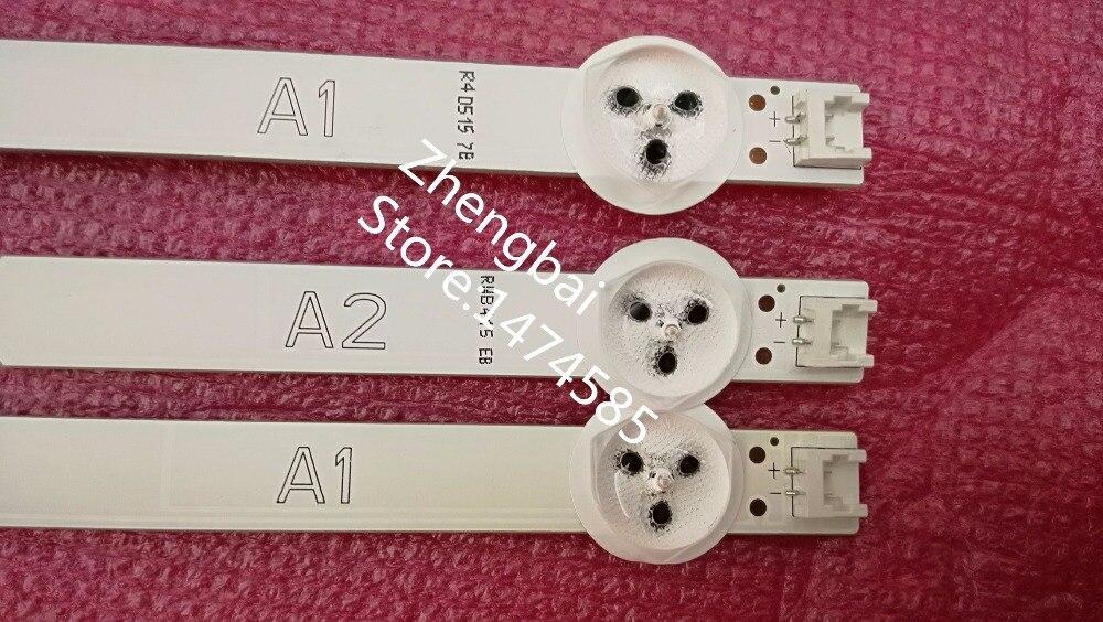 New 3 PCS(2*A1*7LEDs,1*A2*8LEDs)LED backlight bar 32