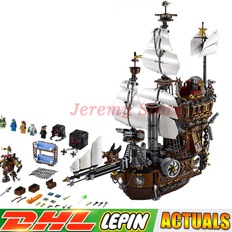 Lepin 2791PCS 16002 Pirate Ship Metal Beard's Sea Cow Model Building Blocks Bricks Toys Compatible LegoINGlys 70810 16002 2791pcs pirate ship metal beard s sea cow set model building kits mini blocks compatible with 70810 toys lepin