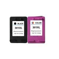 2pcs For Hp 301xl Ink Cartridge For Hp 301 For HP Deskjet 1050 2050 2050s 3050