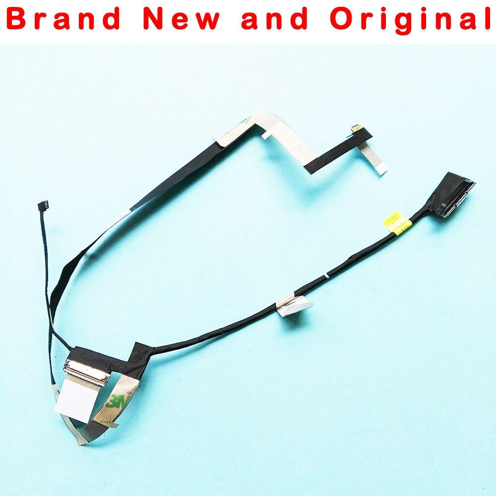 Novo cabo lcd original para dell xps15 9570 precisão 5530 m5530 4 k dam00 uhd edp cabo 0jxf32 dc02c00hu00