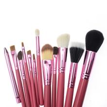 12 pcs High Quality Makeup Brushes Professional Cosmetics Brush Set Makeup Tools Kit