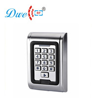 DWE CC RF access control keypad multifunction standalone access controller IP68 metal reader 2000 users single door controller
