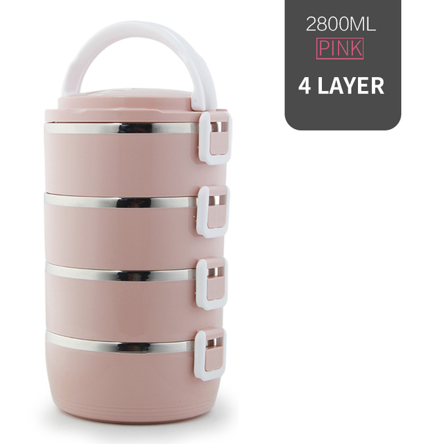 4 Layer Pink Cheap bento boxes 5c6479e2ef006