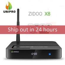Auf Lager! zidoo x8 realtek rtd1295 android 6.0 openwrt (nas) tv box 2g/8g ac wifi 1000 mt lan usb3.0 hdmi2.0 hdr bluetooth(China (Mainland))