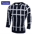 2017 New Winter Men's Casual Sweater Man Knitted Winter Warm Pullovers V-neck Long Sleeve Standard Sweaters Male  3 Color