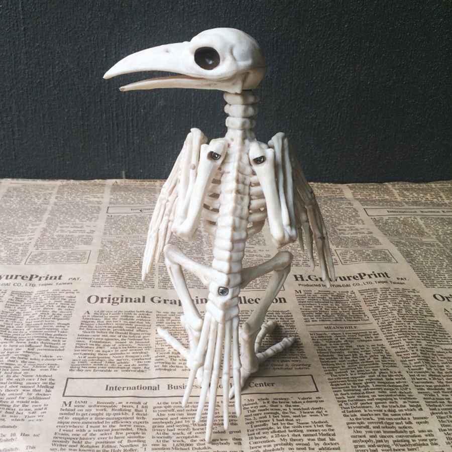 Party Halloween Skeleton Decoration Horror Animal Bones ...