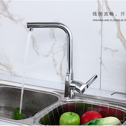 free shipping pull solid brass kitchen faucet with new design