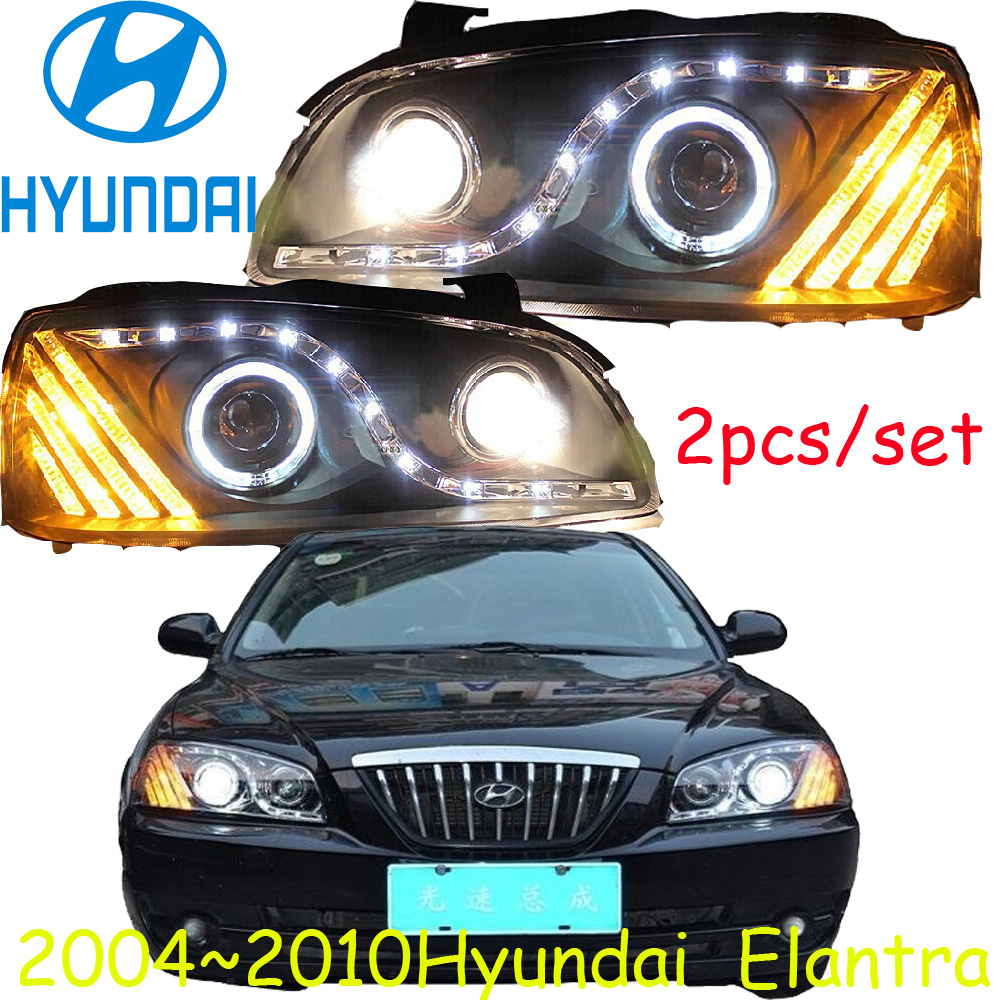 detail feedback questions about blue s led hyunda elantra headlight 2005 2010 free ship elantra daytime light 2ps se 2pcs ballast elantra on aliexpress com  [ 1000 x 1000 Pixel ]