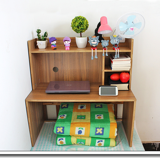 Bed Tables University Dormitory Artifact Capped Desk Lazy Computer Study  Table Laptop Bed With