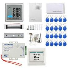 Tarjeta de IDENTIFICACIÓN RFID de Control de Acceso Cerradura Magnética Eléctrica de seguridad Sistema de Contraseña Nueva Llegada Durable Calidad