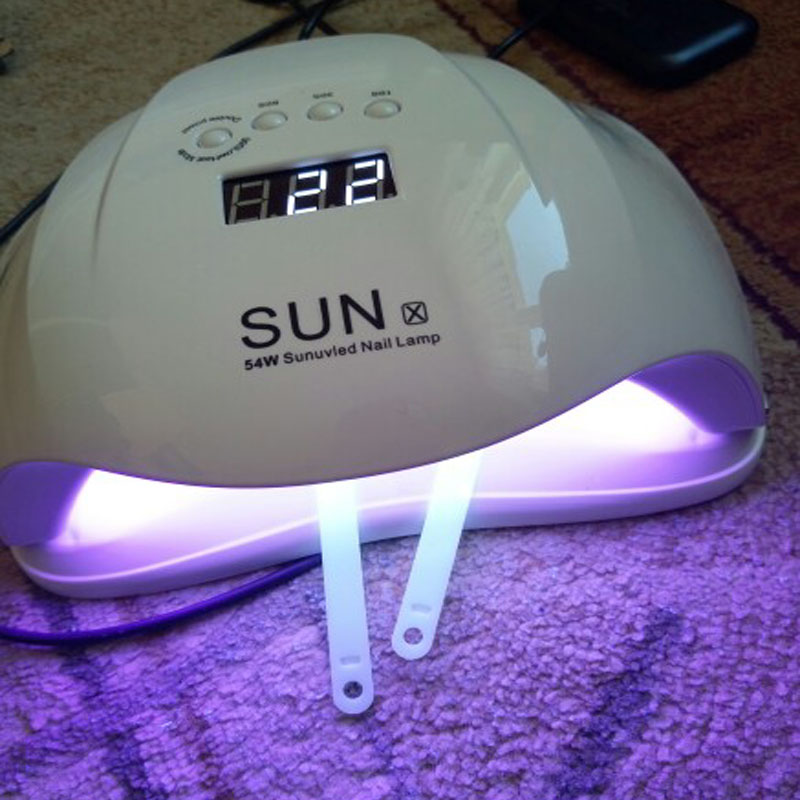54W UV LED Nail Dryer Machine Dual Mode LED Display Nail Lamp Gel Polish Curing Dryer SUN X Sunlight Lamp Nail Art Manicure Tool 36w nail dryer sun8se uv led nail lamp sunlight nail gel dryer lcd display curing gel polish manicure drying lamp nail art tool