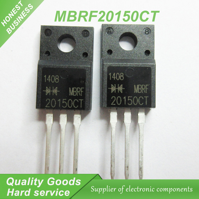 20pcs/lot MBRF20150CT 20150CT MBRF20150 Schottky & Rectifiers 20 Amp ...