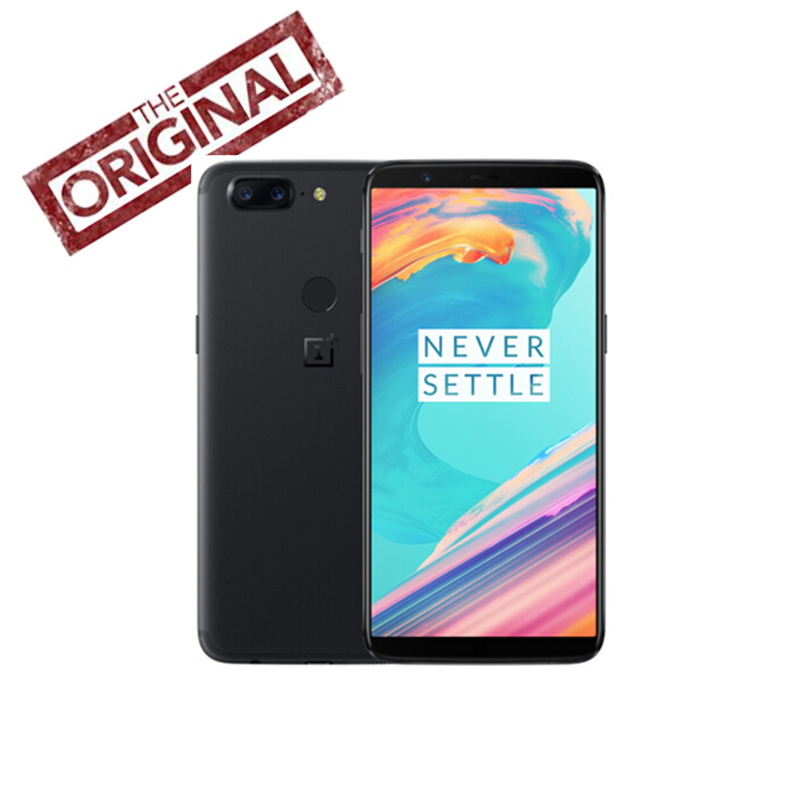 New Original OnePlus 5T 6GB 64GB 128 Snapdragon 835 Octa Core 6 01 1080x2160P 18 9