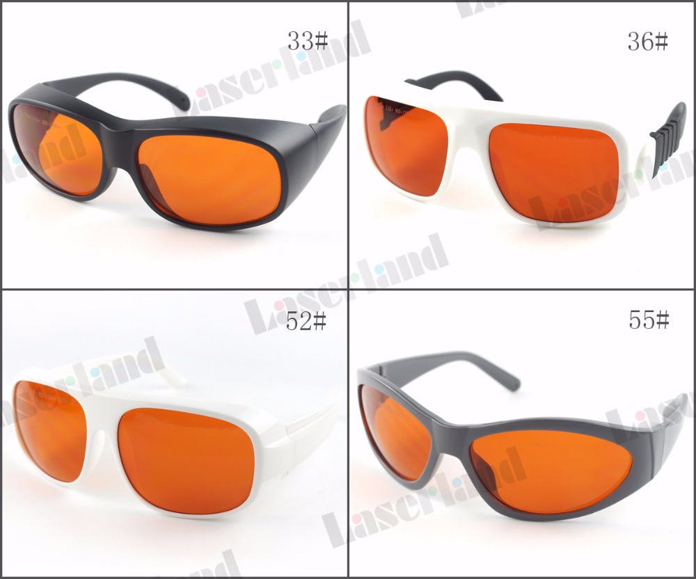 LP GTY 200nm 532nm OD6 900n 1100nm OD5 Laser Protective Goggles Safety Glasses