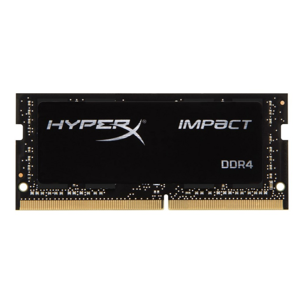 HyperX Impact 8 GB DDR4 2933 MHz, 8 GB, 1x8 GB, DDR4, 2933 MHz, SO-DIMM 260 broches, noir