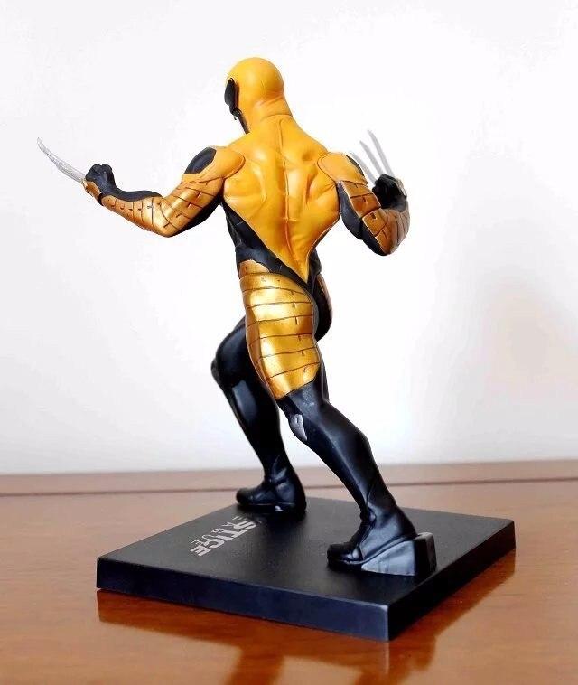 Wolverine Figure Logan Justice League ARTFX+ X Force Statue X MEN Weapon X Iron Man Action Figure Model Collection Toy