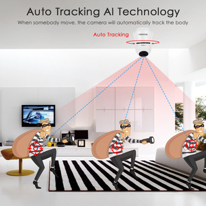 Image 2 - 1080P Draadloze Wifi Camera Infrarood Home Security Twee Weg Intercom Hd Ip Camera Babyfoon Auto Tracking Bewakingscamera