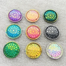 New 20 PCS/lot 20mm AB resin Round Rhinestone Flatback Wedding decoration scrapbook Crafts 2 hole button-A960