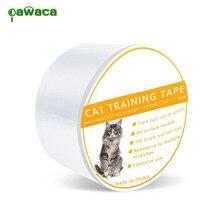 Клейкая лента для обучения кошек против царапин, Защитная пленка для мебели и кожи, защитная лента для кошек и домашних животных