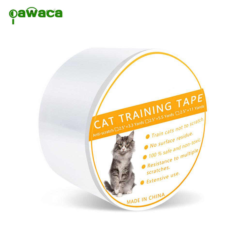 Anti-Scratch Pet Cat Training Tape Scratch Guard Mat Furniture and Leather Scratch Guard Protector Tape for Cats and Pets