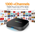Europa Canales de IPTV Árabe Francés octa-core Android 6.0 TV Box S912 T95RPRO 3G RAM Deporte Canal Plus Francés Iptv Set Top Box