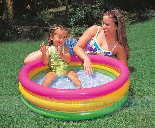 Vasca Da Bagno Gonfiabile Per Bambini : Cm gonfiabile piscina rotonda piscina gioco piscina per
