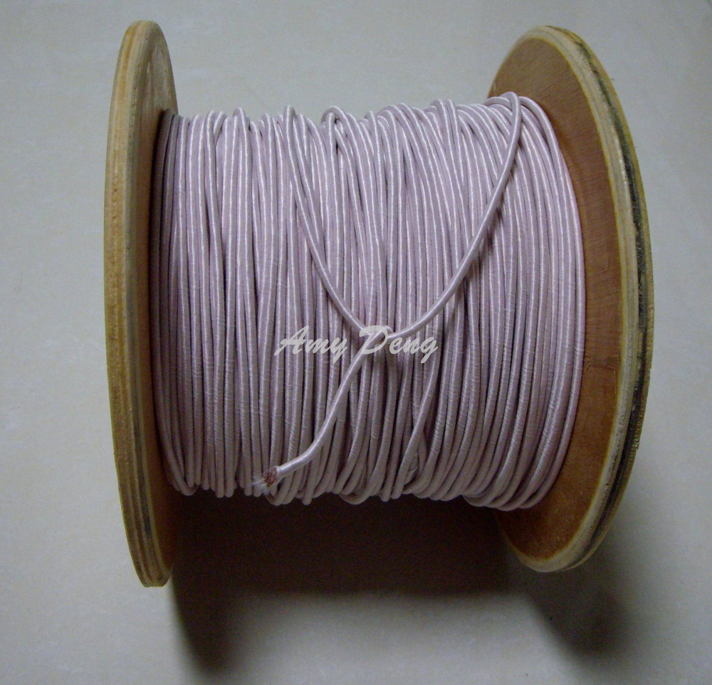 20meters lot 0 1X500 shares Litz strands of polyester cotton covered wire