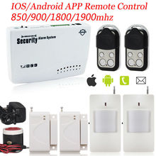 G11 ios/android APP Управления Металлический Брелок Дистанционного Управления Домашней Беспроводной Смарт Охранная GSM Сигнализация Инфракрасный Детектор Сигнализации