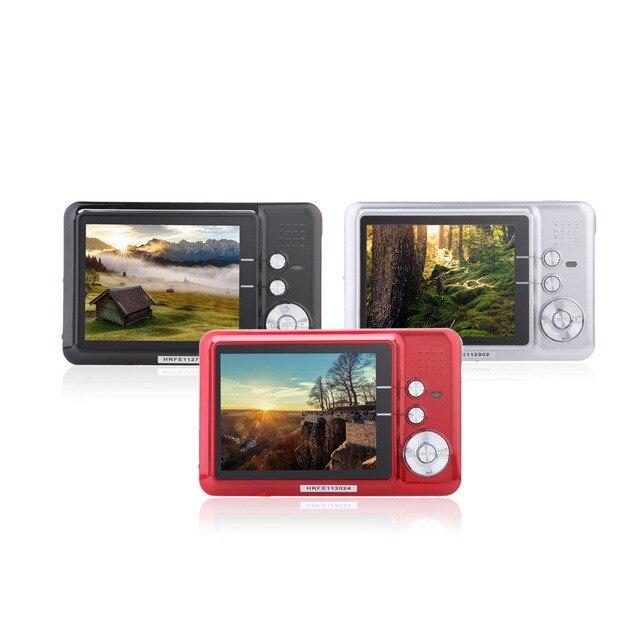 18 Mega Pixel Compact Digital Camera DC 500FE 2 7 8x Digital Zoom Cheap Camera Digital