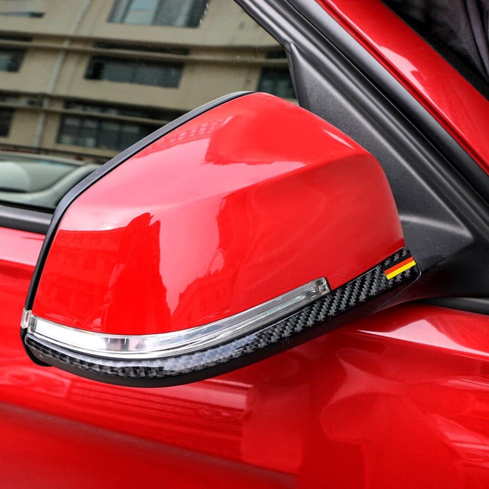 2 Stuks Carbon Fiber Achteruitkijkspiegel Anti-rub Strip Sticker Auto Anti-collision Strips Voor Bmw F30 F31 F32 F33 F34 2012-2020 2019 Nieuwe Mode-Stijl Online