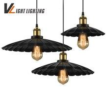 Лофт RH Промышленные Подвесные Светильники E27 Старинные Американский Проходу Огни Лампа Эдисон Лампы 110 В-220 В Медное Основание подвесной Светильник