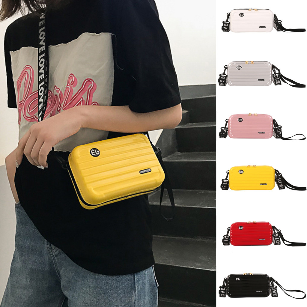 Messenger Crossbody Bags Belt Woman Trendy Mobile Bag Shoulder Bag Ladies Luggage Box Shape Crossbody Bag сумка мужская#616P