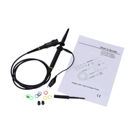 P4100 Professional High Voltage Oscilloscope Probe Oscilloscope Accessories 100MHz Alligator Clip Test Probe Kit Osciloscopio
