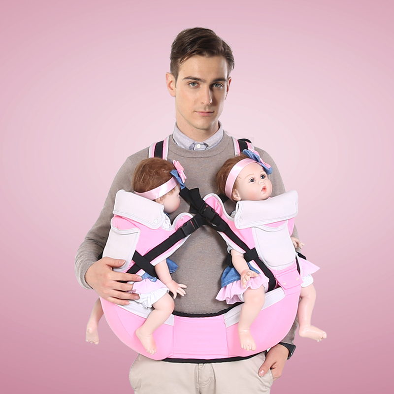 Twins Baby Carrier Straps Multifunctional Baby Carrier Waist Stool