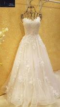 Robe de mariage courte traine en blanc i ...