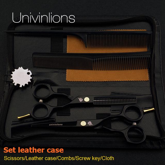 5.5″ sale black japan hair scissors teflon shears cheap hairdressing scissors barber thinning scissors hairdresser razor haircut