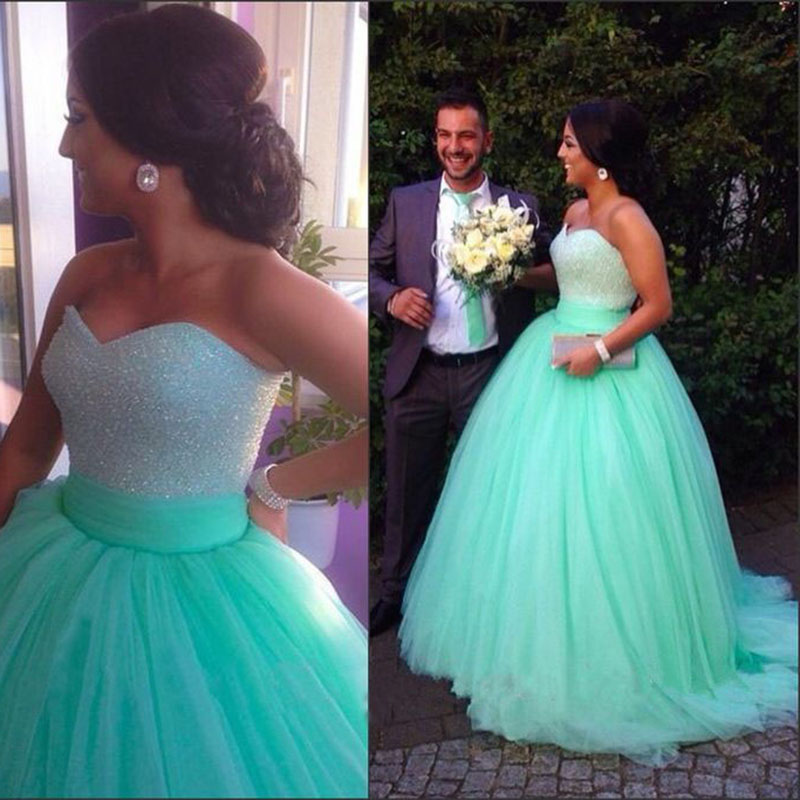 344ba4522a8 robe de mariage princesse bridal dress custom made sweetheart tulle ball  princess turquoise blue wedding dresses