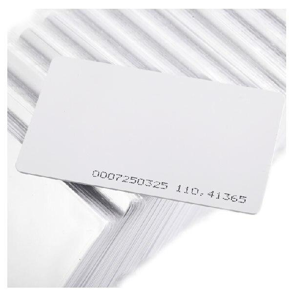 Frete grátis, cartão RFID em, 125 kHz, 0.8mm cartão fino, suibable para controle de acesso/estacionamento + mínimo 100 pcs