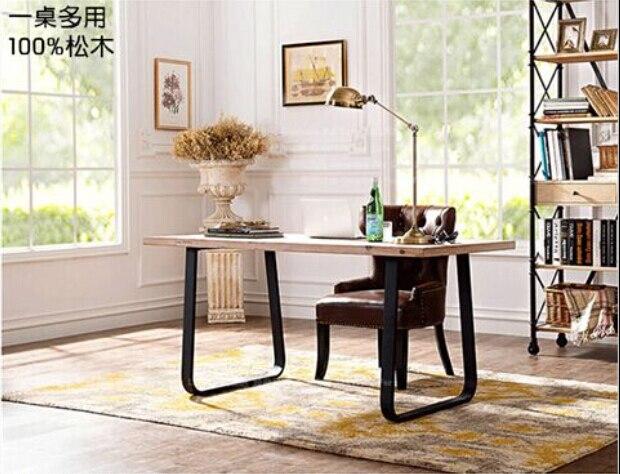 Tavolo Da Pranzo In Francese : Loft francese design di stile retrò industriale ferro tavolo da