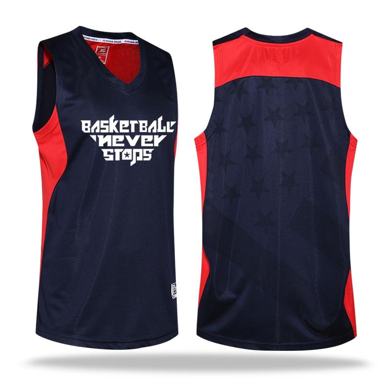 Custom LOGO Levný basketbalový dres / košile + trenírky Set Fitness College Boy Basketbalové košile Rychleschnoucí Prodyšný oblek M-5XL