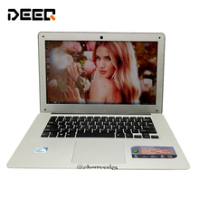 Free shipping 14 inch laptop 2 0 GHz 8G 256G SSD WIN7 8 1 notebook In