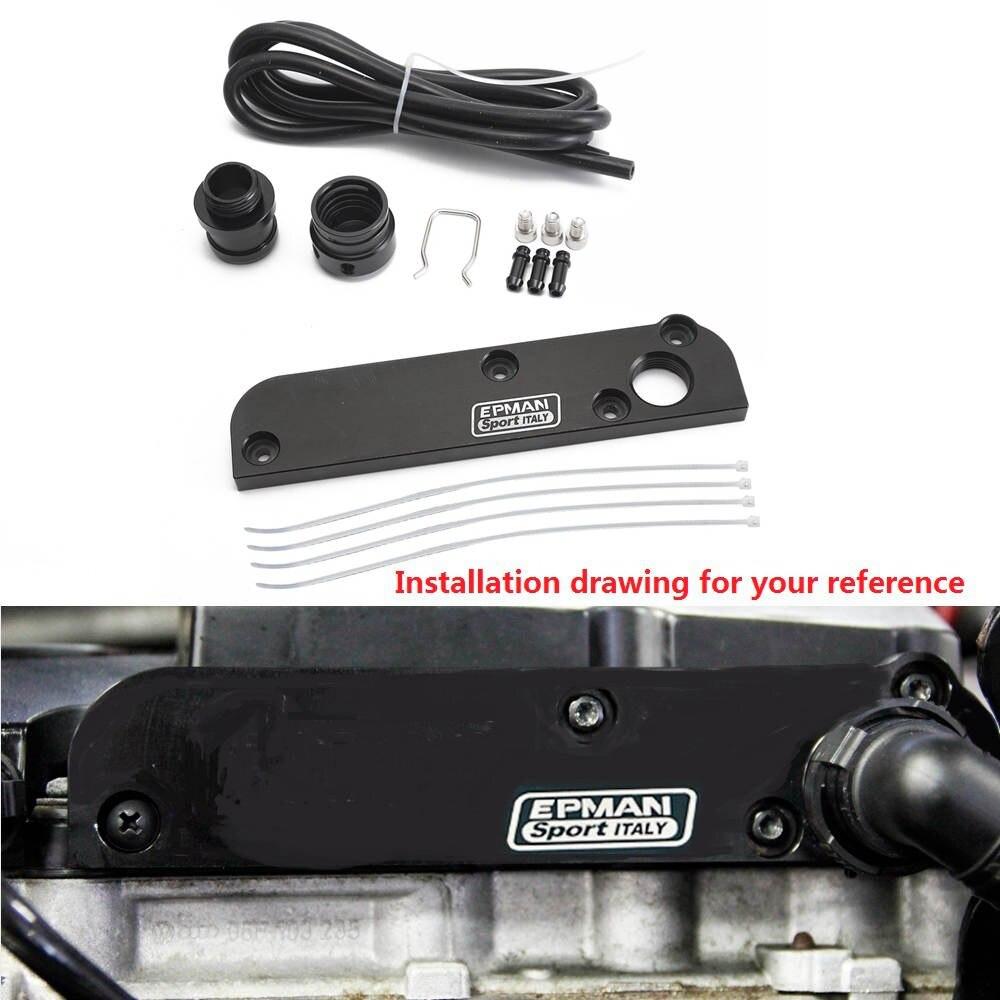 D1 Spec Turbo Boost Gauge Vacuum Adaptor for AUDI A3 8P A4 B7 FSI TSI 06-13