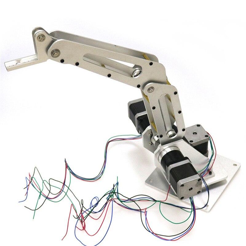 Onbaatzuchtig Doit 3dof Industriële Robotarm Robot Manipulator 3 Axis Met Volledige Metalen Frame Voor Schrijven, Laser Graveren, 3d Printer Fabriek