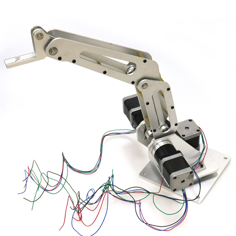 DOIT 3dof Industrial Robotic Arm Robot Manipulator 3 Axis with Full Metal Frame for Writing, Laser engraving, 3D Printer factory