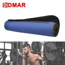 DMAR Barbell Squat Beskyttelsespude Skum + Stoffvægt Løftepude Skulderhalsbeskytter Gym Fitness Crossfit Udstyr