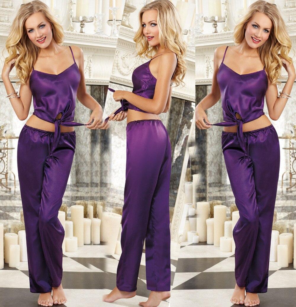 Popular Womens Purple Pajamas-Buy Cheap Womens Purple Pajamas lots ...