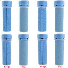 8 pc Foot Care Tool Roller Heads Accessories for Electric Foot File Machine Feet Skin Care for Dead Skin Replacement Rough&Fine