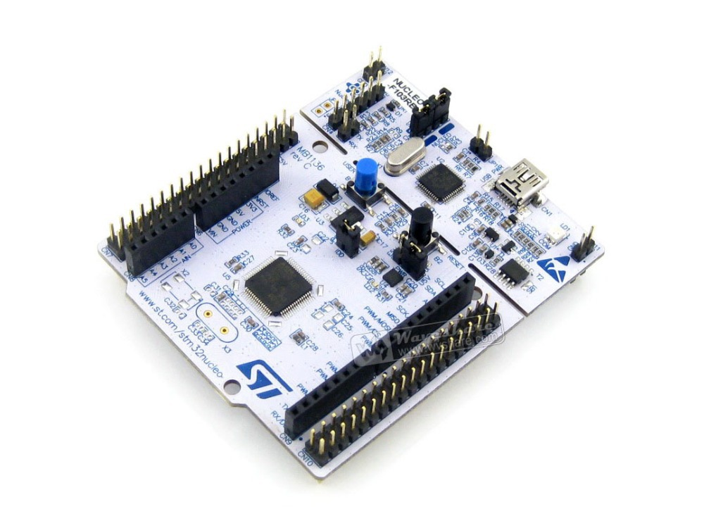 US $18 79 6% OFF STM32 NUCLEO Original NUCLEO F103RB # STM32F1 STM32F103  STM32 Board with Embedded ST LINK-in Demo Board from Computer & Office on